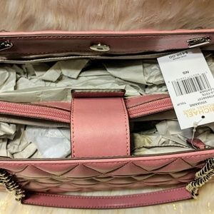 MICHAEL Michael Kors Bags - PURCHASE! TULIP PINK MK QUILTED PURSE
